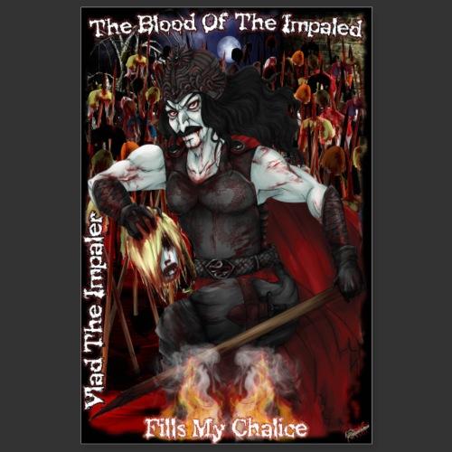 Vlad The Impaler Poster - Poster 8x12
