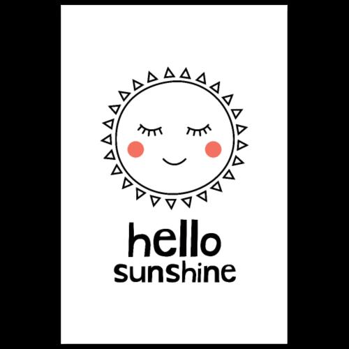 Hello Sunshine - Poster 8x12