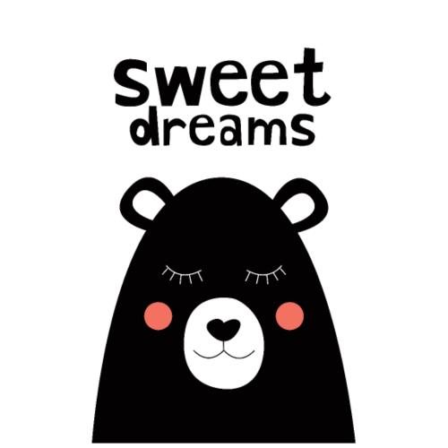 Sweet Dreams Nursery Print - Poster 8x12