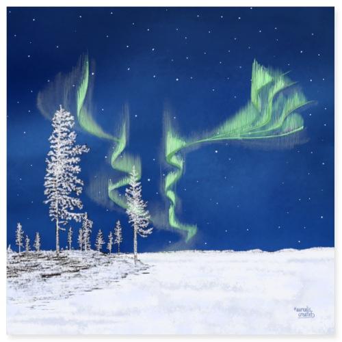 Frozen Forest - Lapland8Seasons - Poster 8x8