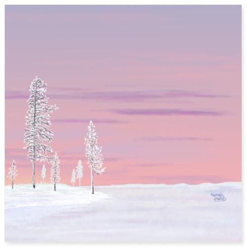 Crusty freshness - Lapland8seasons - Poster 8x8