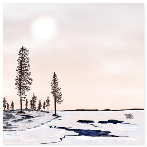 Floating Ice - Lapland8seasons - Poster 8x8