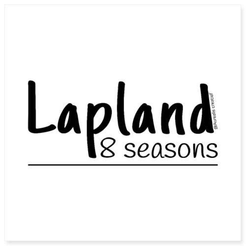lapland8seasons - Poster 8x8