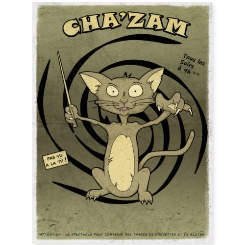 Chazam - Poster 18x24