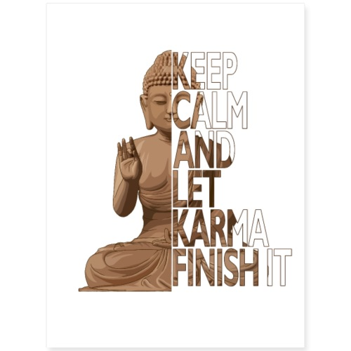 Karma - Poster 18x24