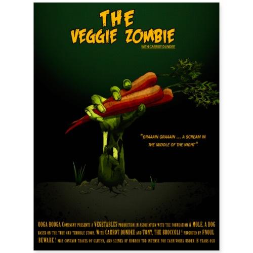 The Zombie Veggie - Poster 18x24