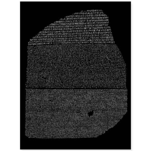 Rosetta Stone - Poster 18x24