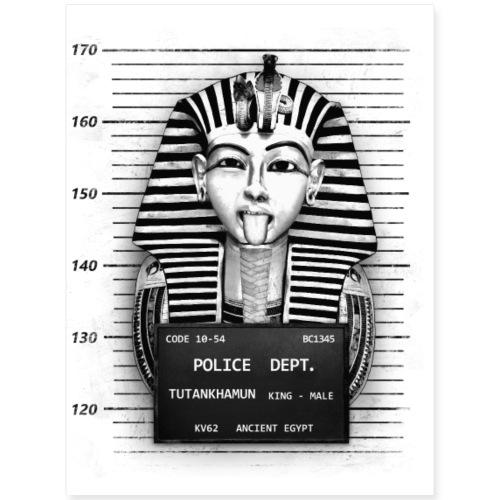 Tutankhamun Mugshot - Poster 18x24