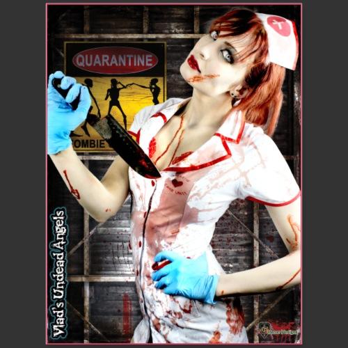 Live Undead Angels: Zombie Nurse Abigail 1 - Poster 18x24