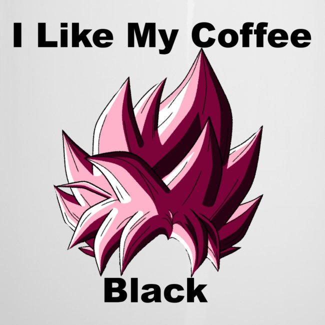Goku Black Coffee Mug