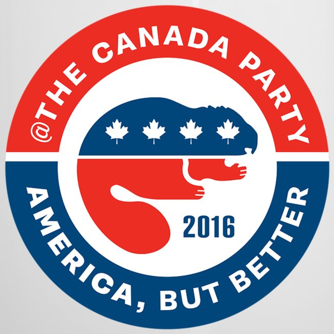 The Canada Party official campaign button - 2016