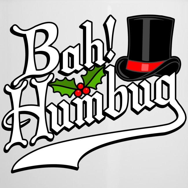 Bah Humbug Christmas Scrooge Funny No Humbuggery