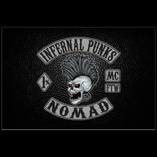 Nomad black poster - Poster 36x24