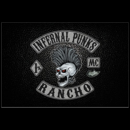 Rancho black poster - Poster 36x24