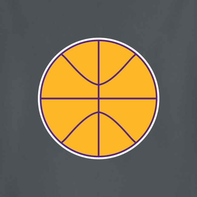 Basketball purple and gold