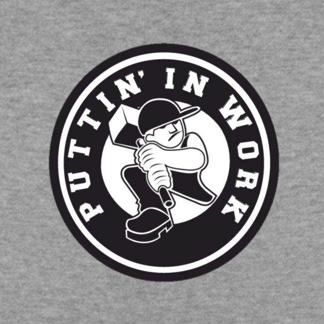 Solid Puttin' In Work Logo
