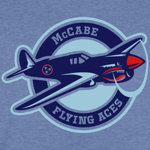 McCabe Flying Aces - Kids' Tri-Blend T-Shirt
