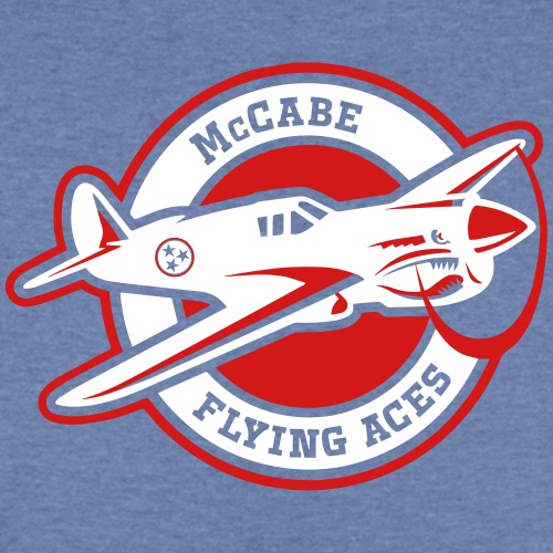 Red Flying Aces - Kids' Tri-Blend T-Shirt