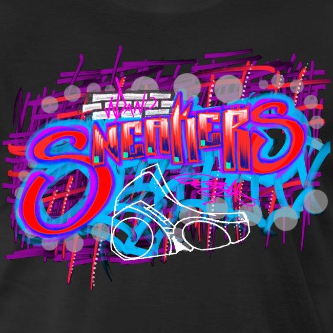 Sneakers Graffiti Design