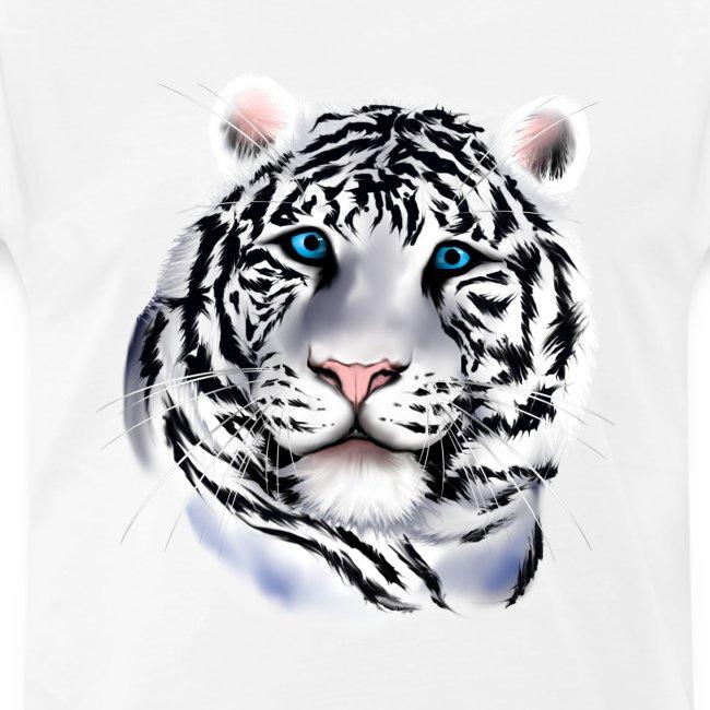 White Tiger Face