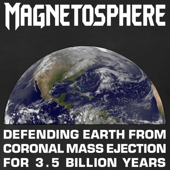 Magnetosphere Defending from Coronal Mass Ejection