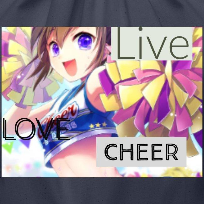 live love cheer
