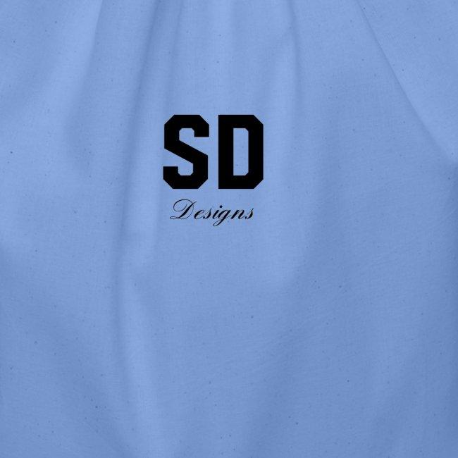 SD Designs blue, white, red/black merch