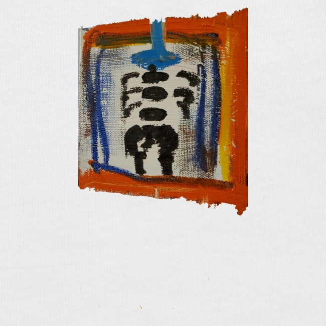 A TOUCH of ART! Unique STREET ART - like Basquiat!