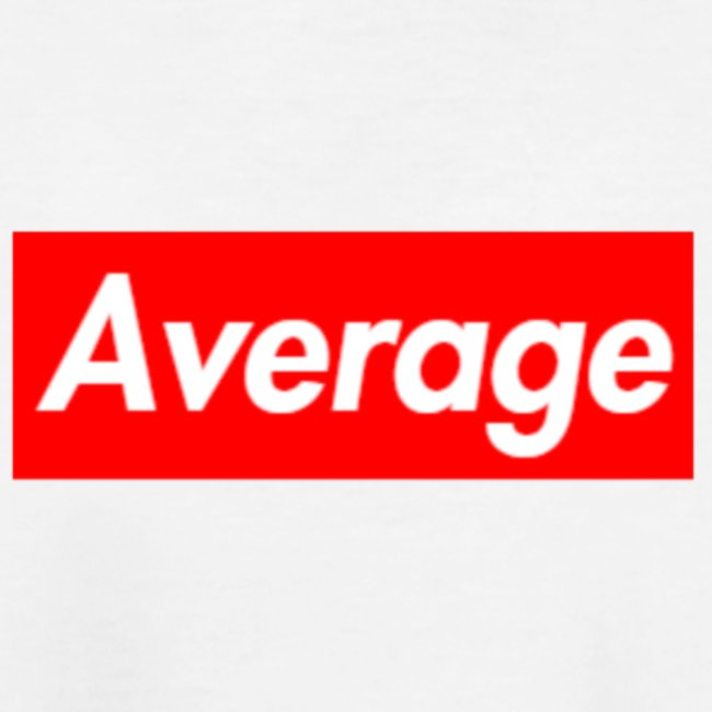 Average Supreme Logo Mockup