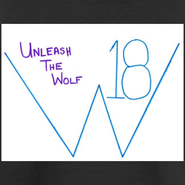 Wolfy 18 Unleash the Wolf t-shirt