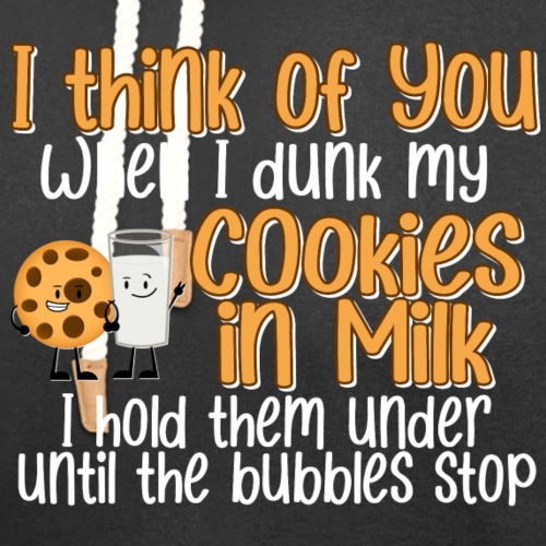 Dunk My Cookies In Milk - Unisex Shawl Collar Hoodie