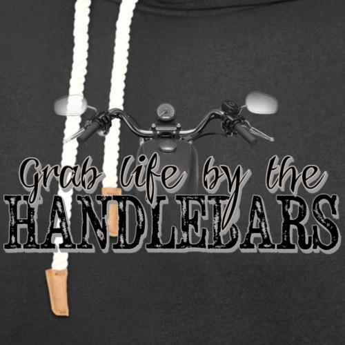 Grab Life By The Handlebars - Unisex Shawl Collar Hoodie
