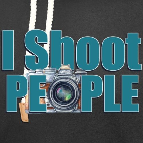 I Shoot People - Unisex Shawl Collar Hoodie
