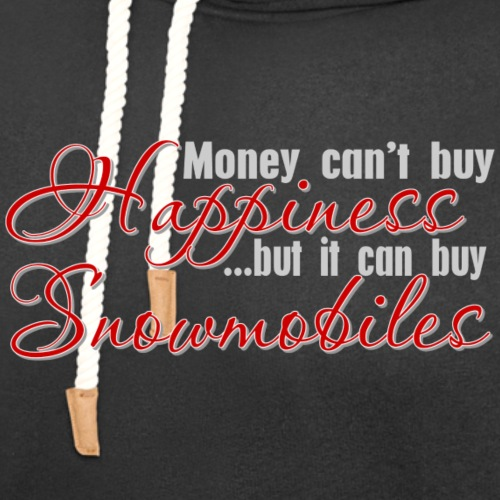 Money Can Buy Snowmobiles - Unisex Shawl Collar Hoodie