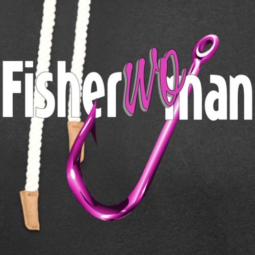 Fisherwoman - Unisex Shawl Collar Hoodie