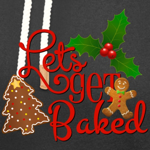 Let's Get Baked - Family Holiday Baking - Unisex Shawl Collar Hoodie