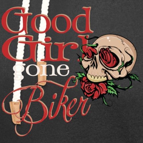 Good Girl Gone Biker - Unisex Shawl Collar Hoodie
