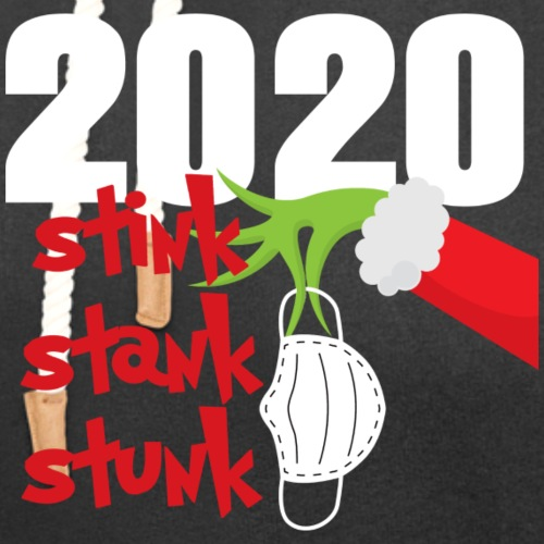 2020 Stink Stank Stunk Christmas - Unisex Shawl Collar Hoodie