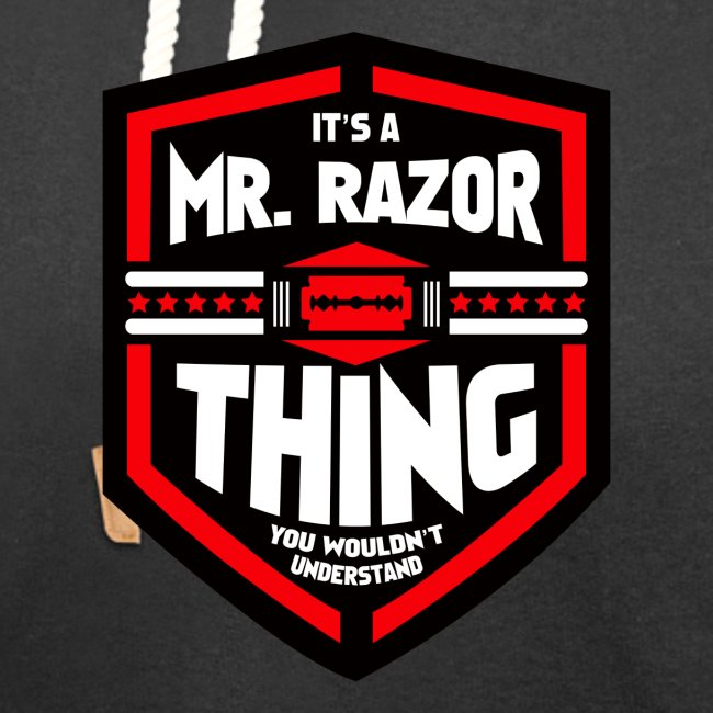 It's a Mr Razor Thing Trini