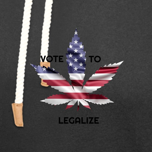 VOTE TO LEGALIZE - AMERICAN CANNABISLEAF SUPPORT