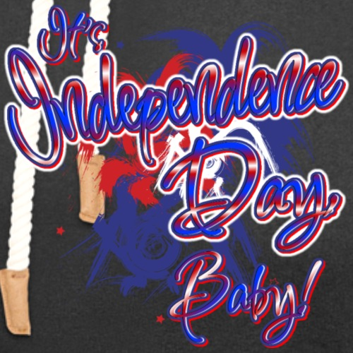 Independence Day Baby - Unisex Shawl Collar Hoodie