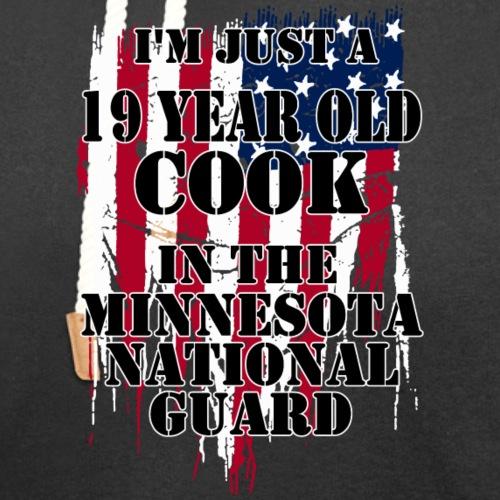 19 Year Old Cook - Unisex Shawl Collar Hoodie