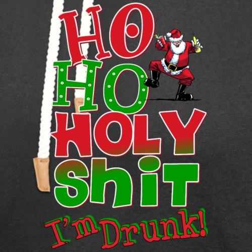 Ho Ho Holy Drunk - Unisex Shawl Collar Hoodie