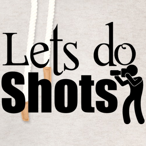 Lets Do Shots Photography - Unisex Shawl Collar Hoodie