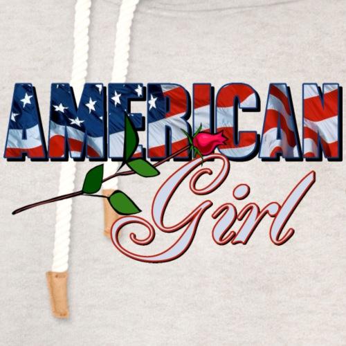 AMERICAN GIRL - Unisex Shawl Collar Hoodie