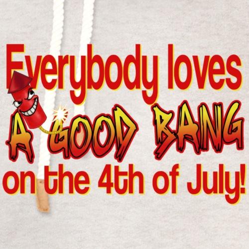 4th of July Bang - Unisex Shawl Collar Hoodie