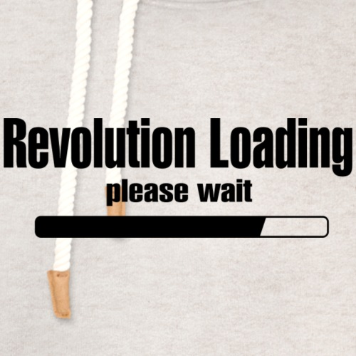 Revolution Loading - Unisex Shawl Collar Hoodie