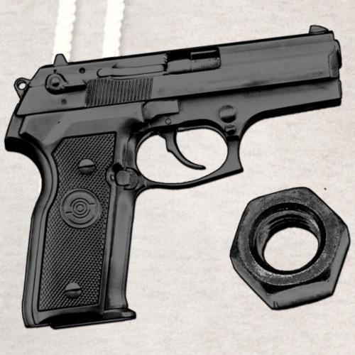 Gun Nut - Unisex Shawl Collar Hoodie