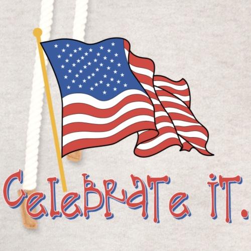 USA Celebrate It - Unisex Shawl Collar Hoodie