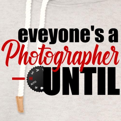 Manual Photographer - Unisex Shawl Collar Hoodie